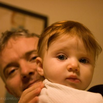 Mia and daddy