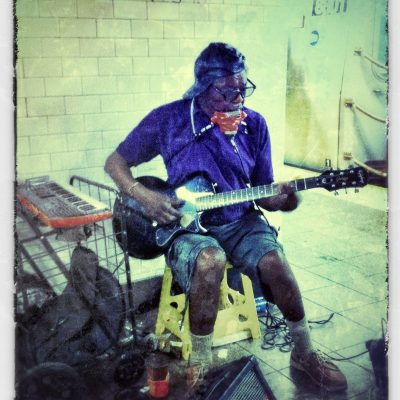 Buskin' the blues